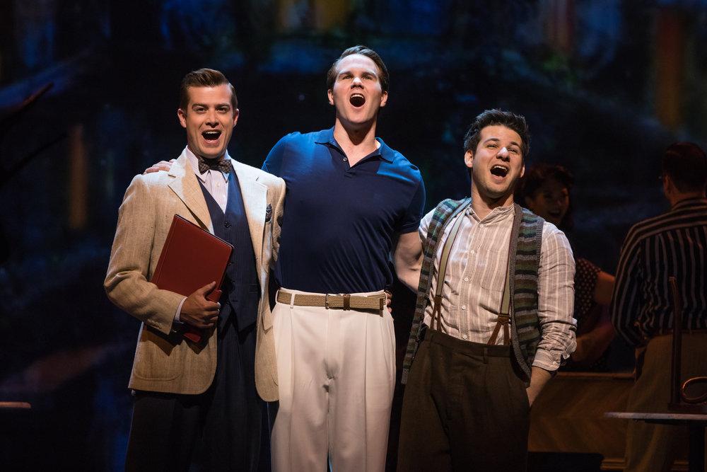 Nick Spangler, McGee Maddox and Etai Benson. Photo by Matthew Murphy.
