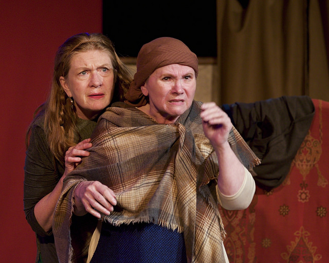 Morgan McCabe and Marssie Mencotti in Deirdre of the Sorrows