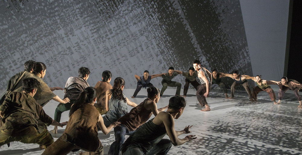 Formosa- Performed by Cloud Gate Dance Theatre of Taiwan. Photo by LIU Chen-hsiang