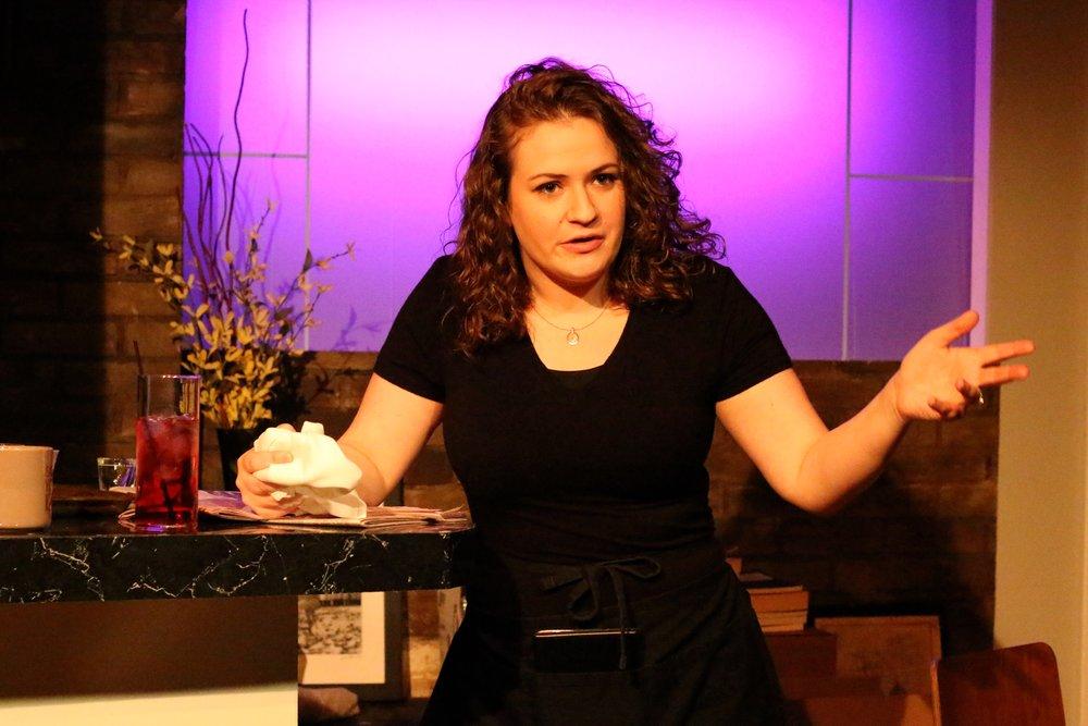 Jessica Rzucidlo as Grace. Photo by: Cody Jolly Photography