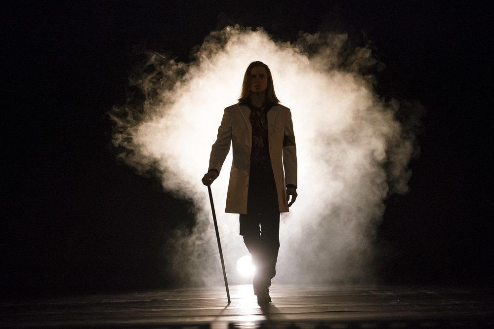 Hubbard Street DancerDavid Schultz in Alejandro Cerrudo's Off Screen. Photo by Todd Rosenberg.