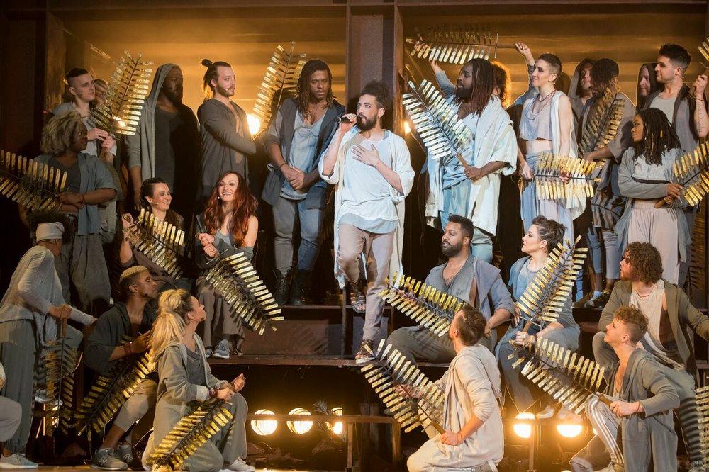 Jesus Christ Superstar at Lyric Opera. Photo by Todd Rosenberg.