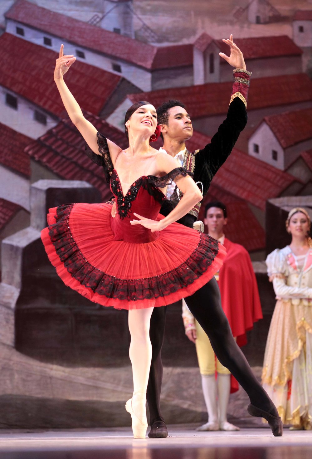 Ballet Nacional de Cuba's Viengsay Valdés and Patricio Revé, photo by Nancy Reyes
