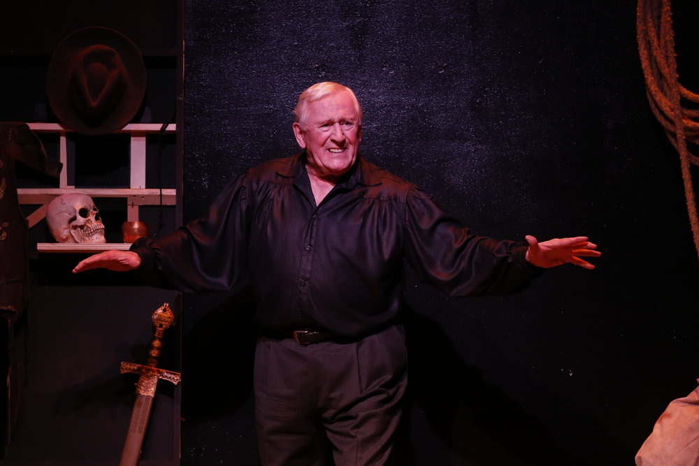 "Len Cariou in ""Broadway and The Bard"" at Stage 773."