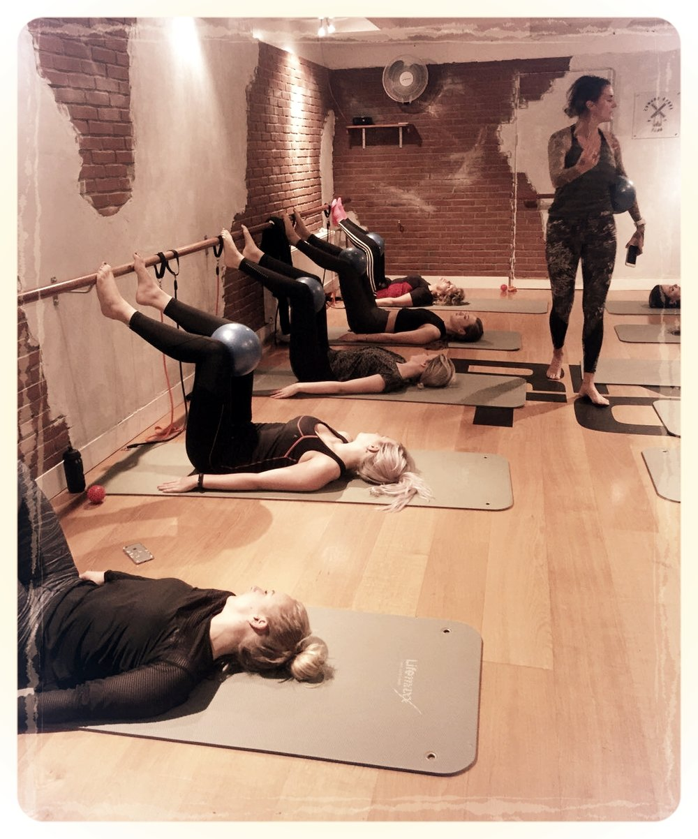 Women's Health came to the barre club!click here to read a first hand account of the experience on the WH blog! - Book a class here and try it for yourself!
