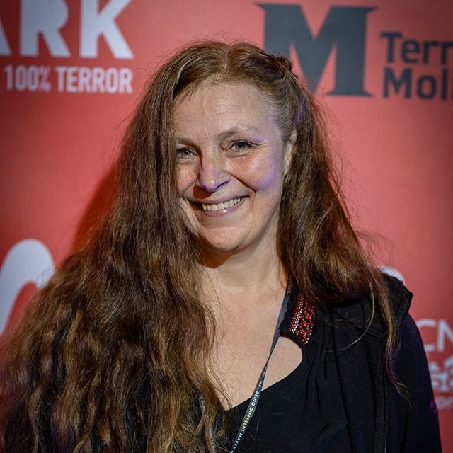 Actor Ingrid Hedström at @terrormolins @bloodparadisemovie @mammaingrid64 @joangosastudio