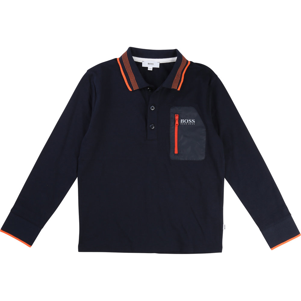 LONG-SLEEVE POLO / Boy 4 years - 16 years