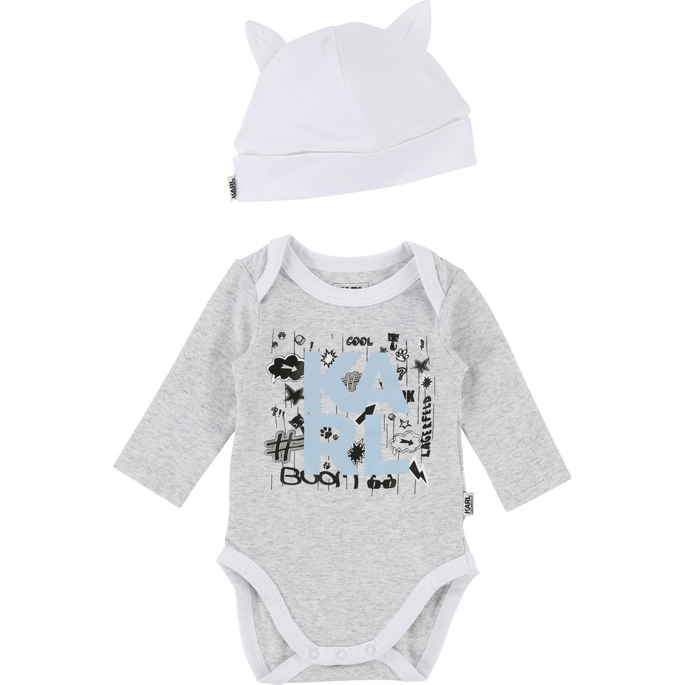 PAJAMA + HAT SET / Baby boy 1 month to 18 months