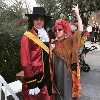 With Captain Hook at our neighborhood Halloween party Monday night! #ILoveNashville #ILoveMyNeighborhood #Halloween #12south #Neighbors