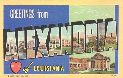 Alexandria! I'm excited to talk about you tomorrow at Saint Augustine's benefit. I'll be at the A-frame Chapel on the  Vanderbilt campus in Nashville! If your ears are burning, that's why! Love, Rebecca (daughter of central Louisiana)