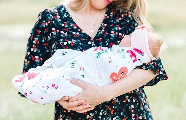 """We've been hearing from our customers about how SOFT our swaddles are! This was our number one priority. Not all cottons are created equal my friends....Jen and I deliberately chose quality over cost. Wash Petite Haven a million times....colors stay crisp and the fabric will never feel """"crunchy."""" Enjoy! 💕"""
