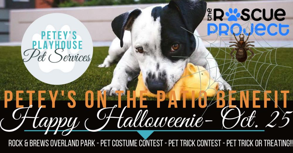 PETEY'S on the Patio Benefit - Happy Halloweenie