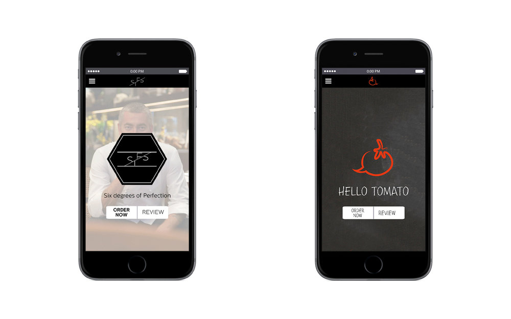 Customisability - While basic architecture and layout remain consistent to maintain the application's identity, each restaurant has will have the ability to tailor the application to align with their own Corporate Identity (CI)