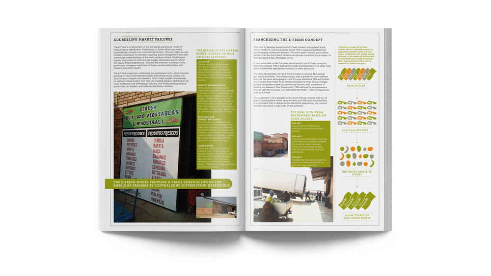 - The visual design concept is to allocate each leaflet with its own primary colour to make for easy recognition.