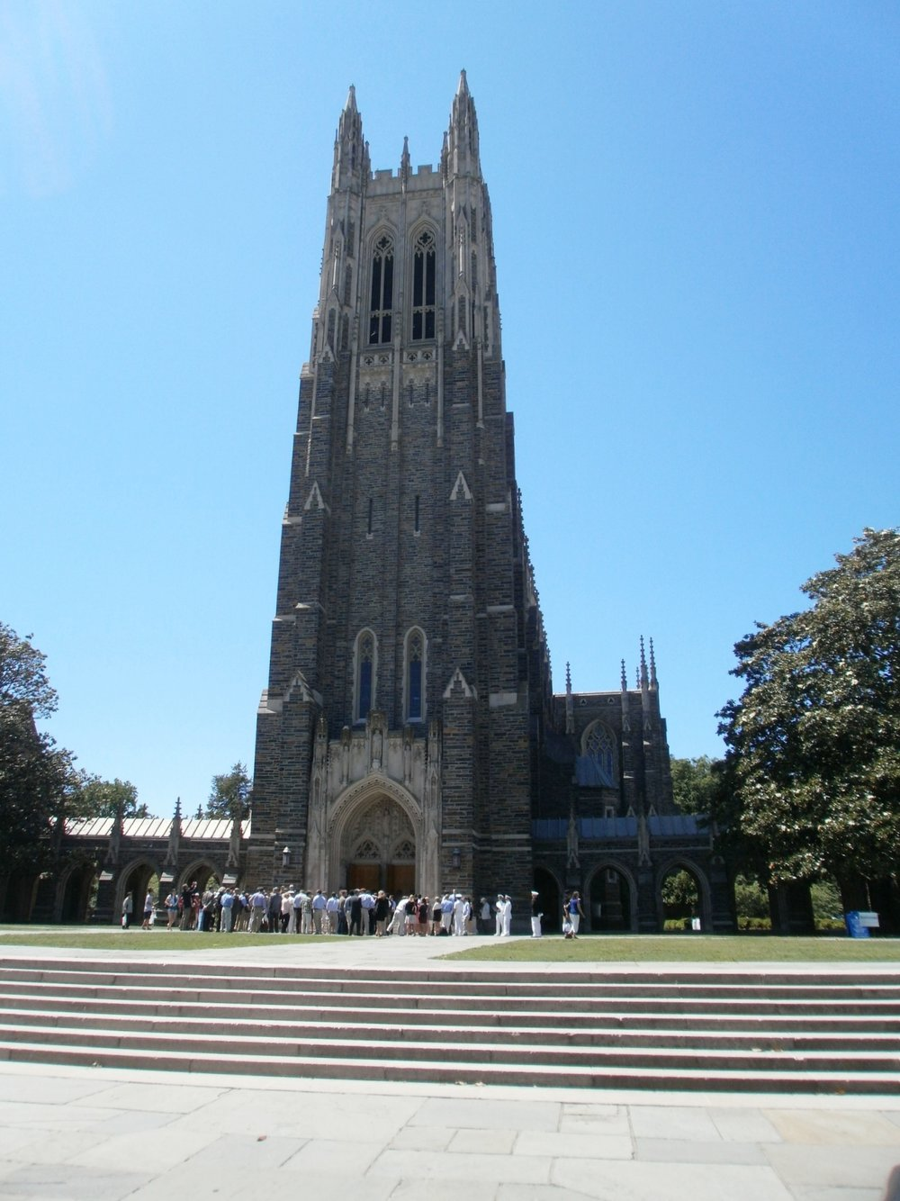 Duke Chapel during graduation. I never went inside nearly enough while I was a student...