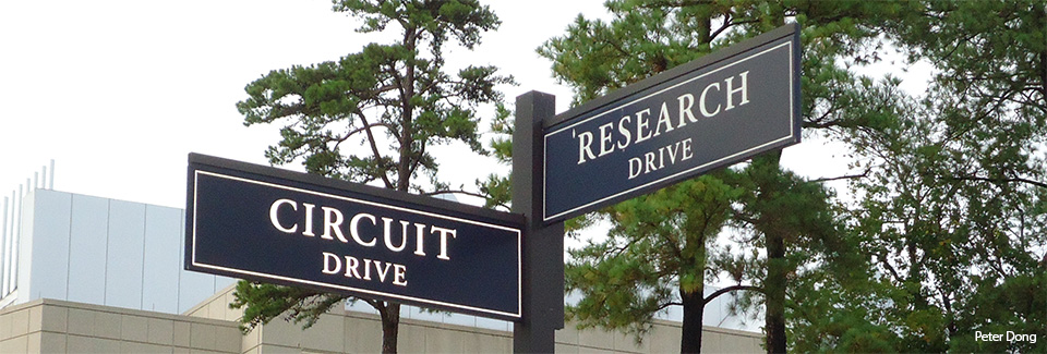 Most of my undergraduate research at Duke was conducted in a building located on the appropriately named Research Drive.