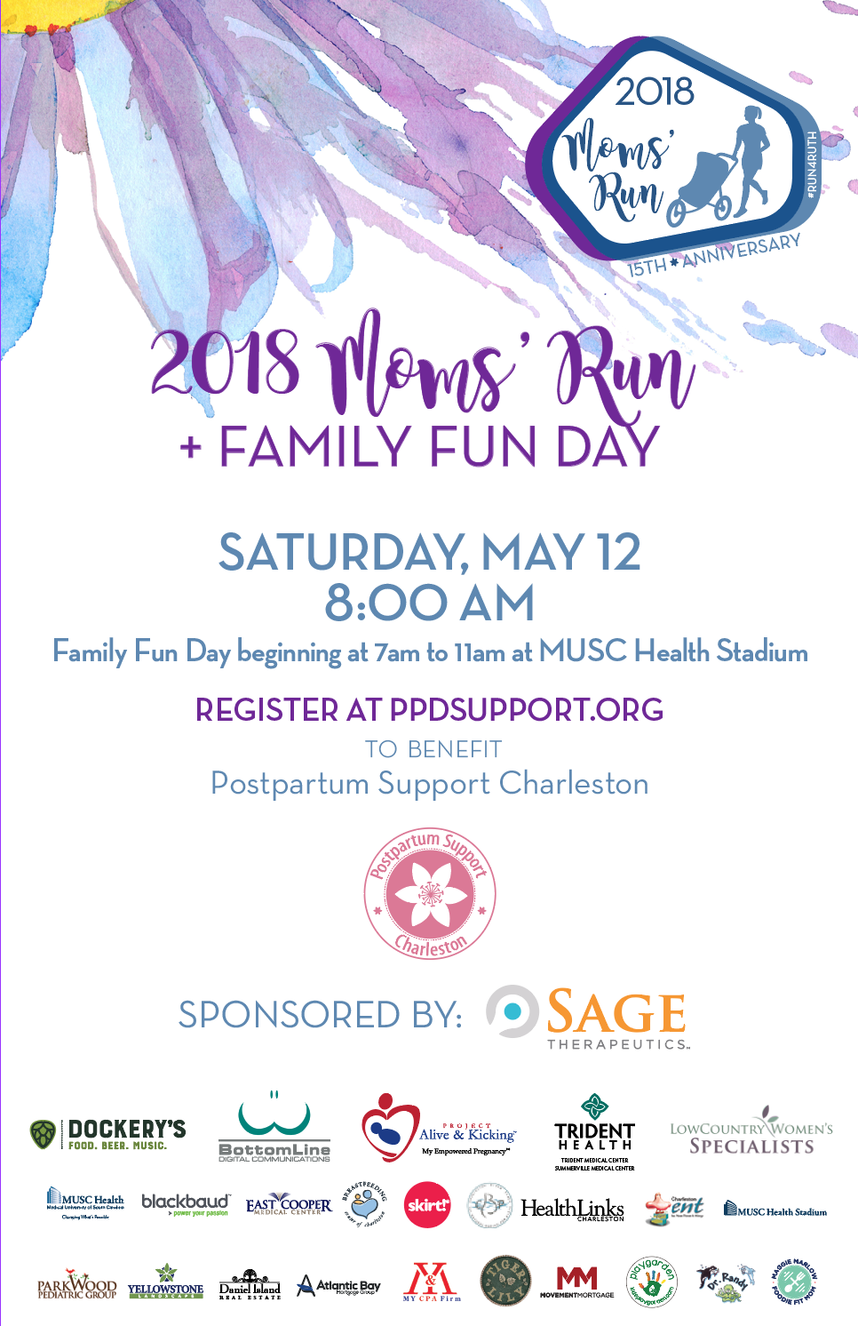 15th Annual Moms Run And Family Fun Day