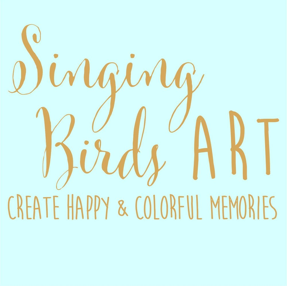 Singing Birds Art