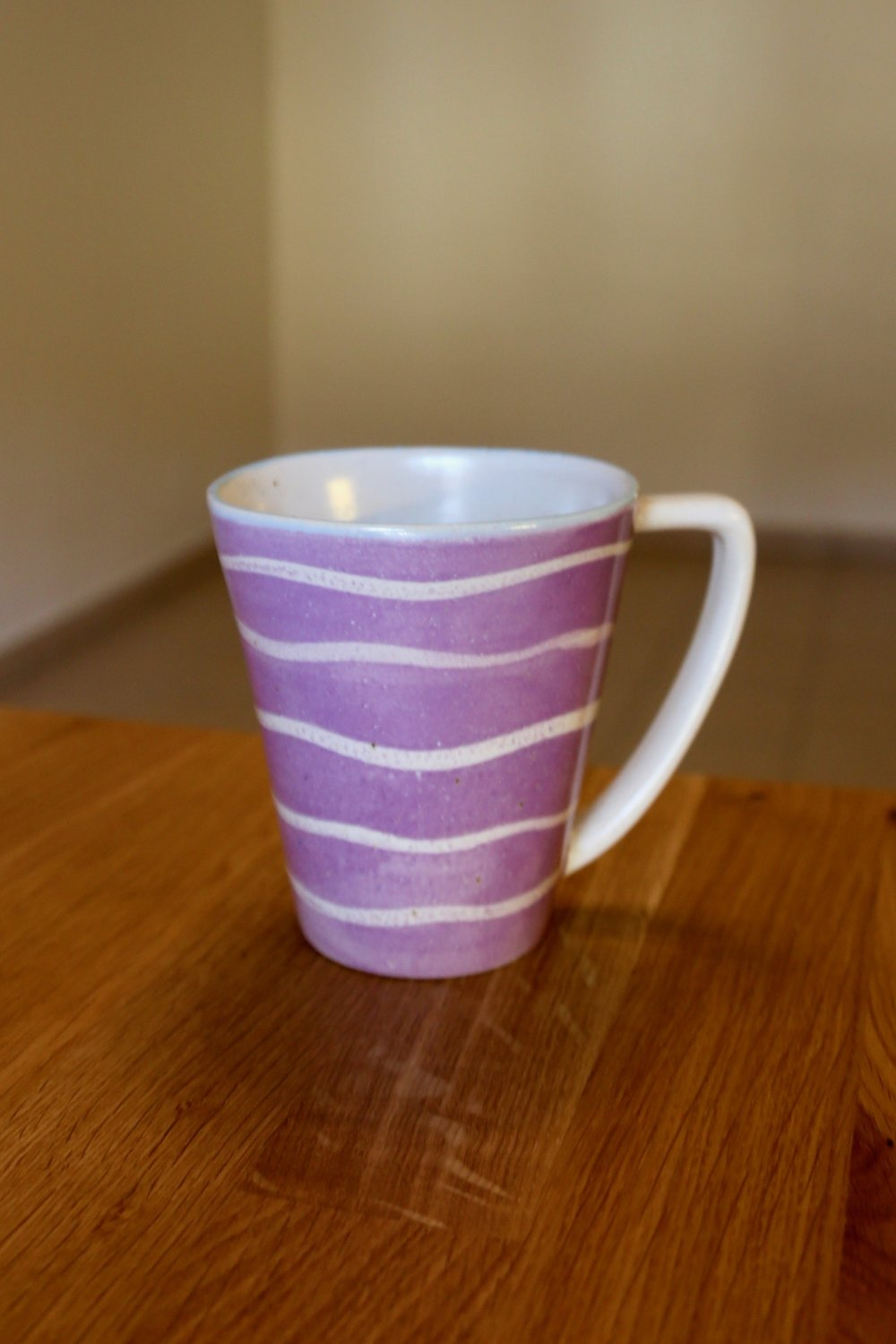 I got this (blurry) mug during a weekend in Porto, Portugal. It is a  Da Terra  product.