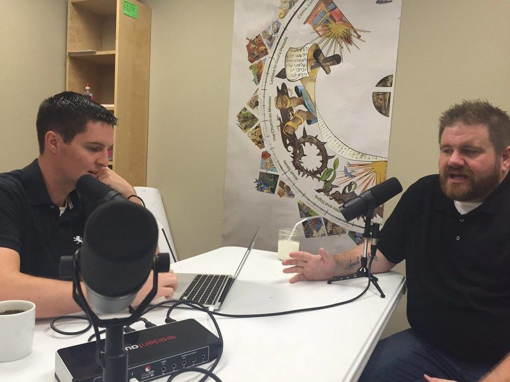 Todd doing an interview with some other podcast.