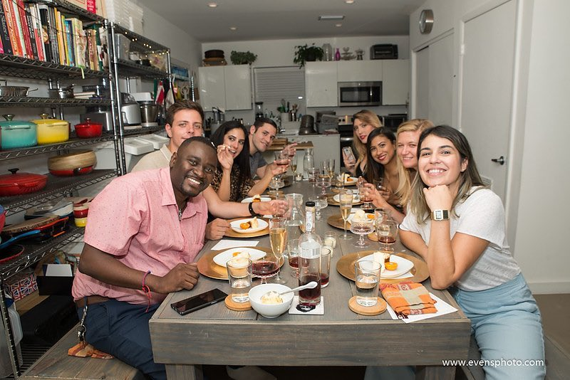 My first Idea Dinner in Miami