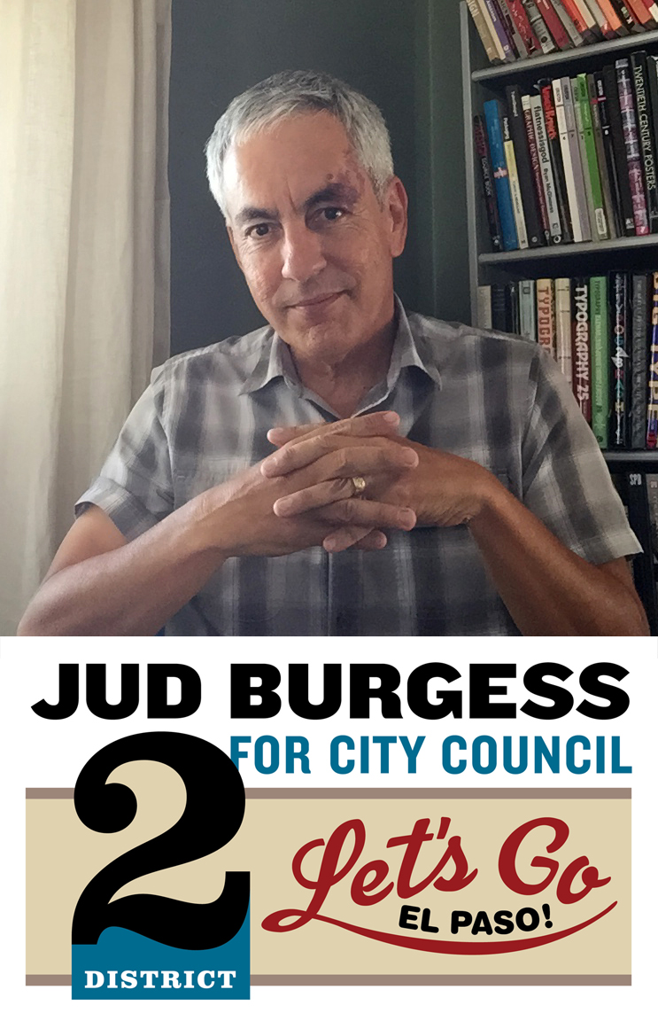 Elect Jud Burgess for El Paso