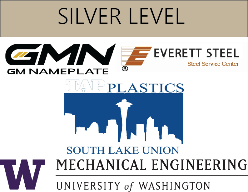 GM Nameplate, Everett Steel, TAP Plastics, UW Mechanical Engineering