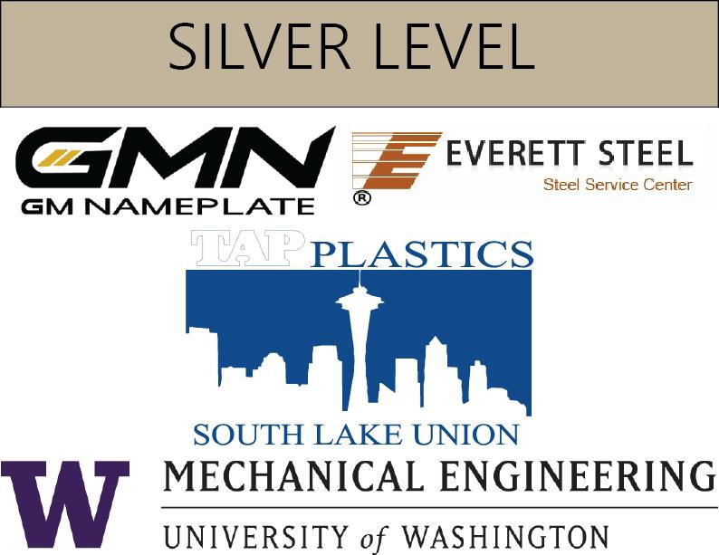 GM Nameplate, Everett Steel, TAP Plastics, UW Mechanical Engineering