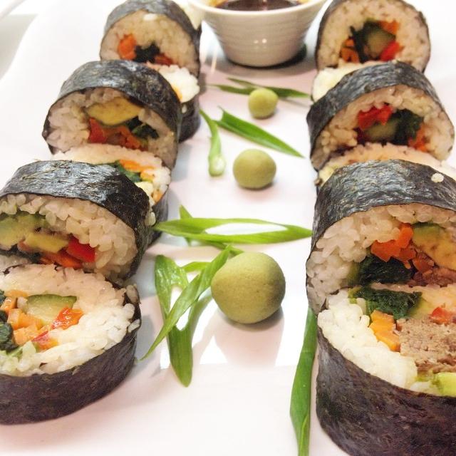 Beef Short Rib Sushi Rolls