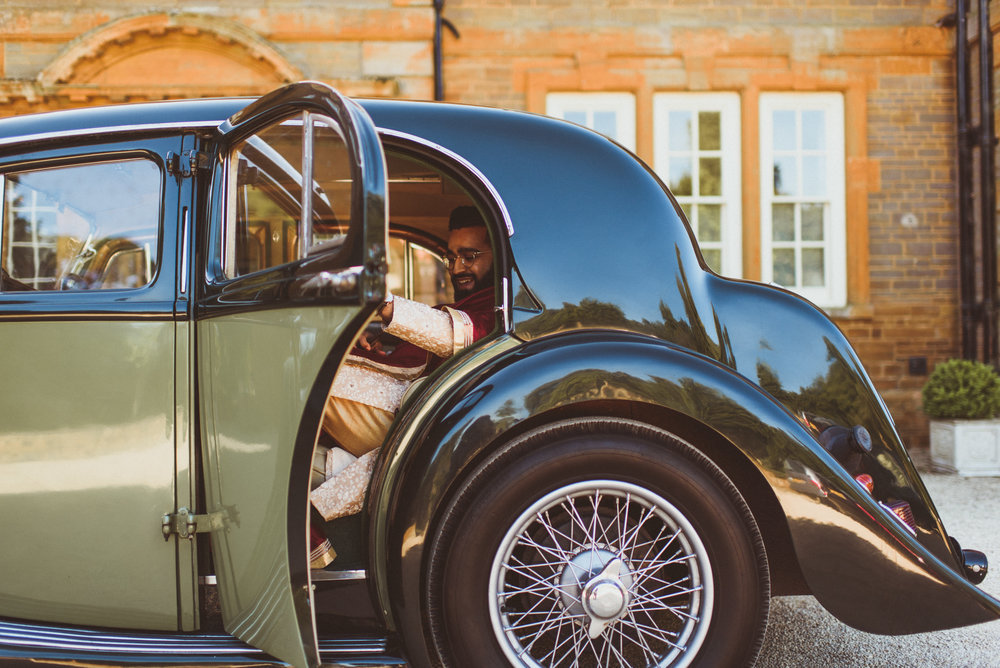 The Baraat, a 1936 MG SA, captured by Alexa Penberthy.