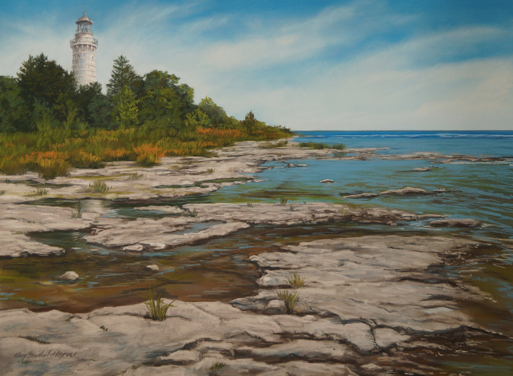 Summer Light, Cana Island Lighthouse