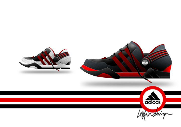 I love to design adidas.