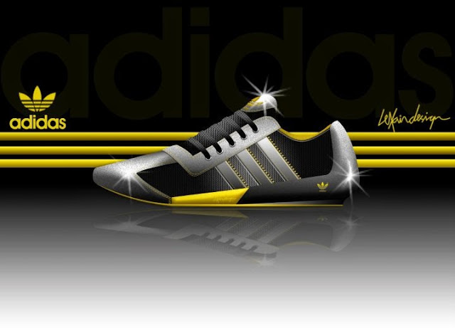 I love to design adidas sneakers still.
