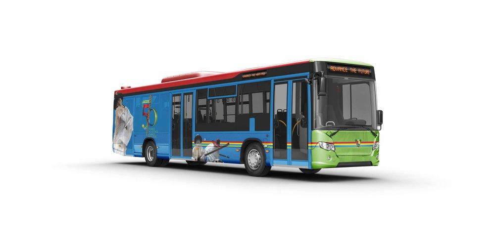 Lagos@50 bus