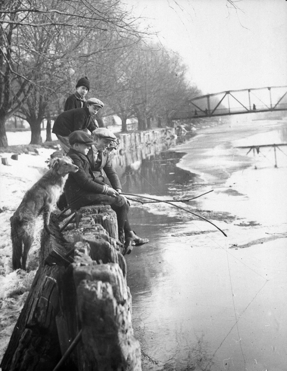 Fishing The Don River, early 20th Century