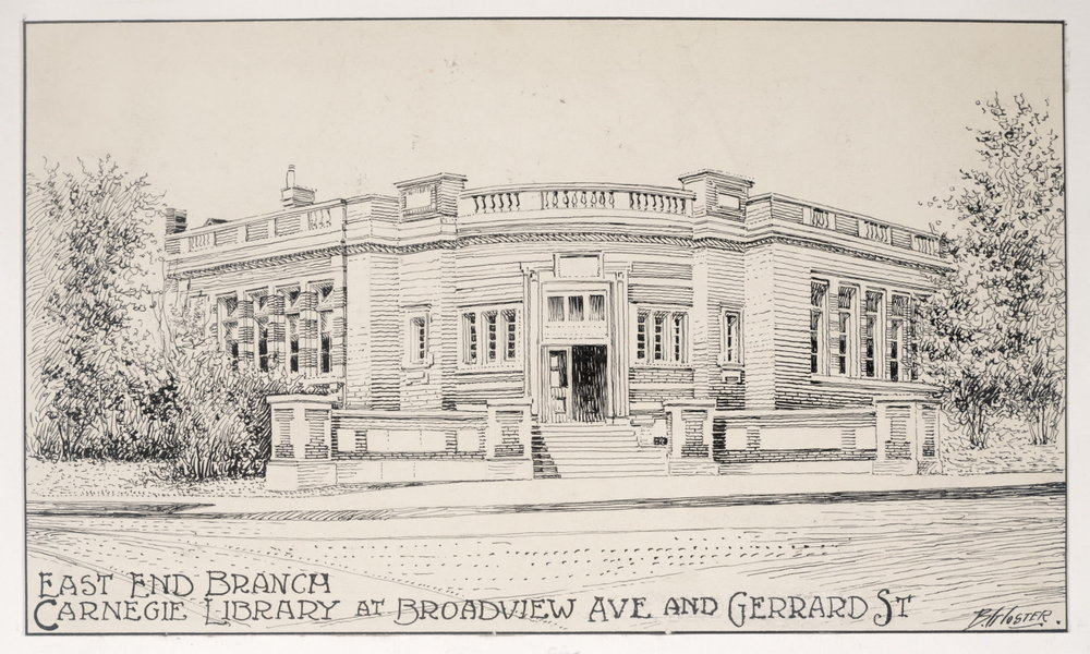 East End Branch Carnegie Library, 1910