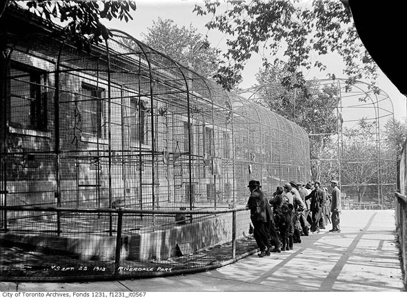 Riverdale Zoo, 1913