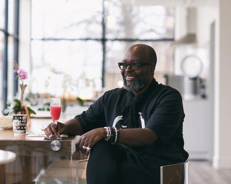 Meet the designer himself: Kevin Allwood / Photography credit: @MANUANDPASCAL