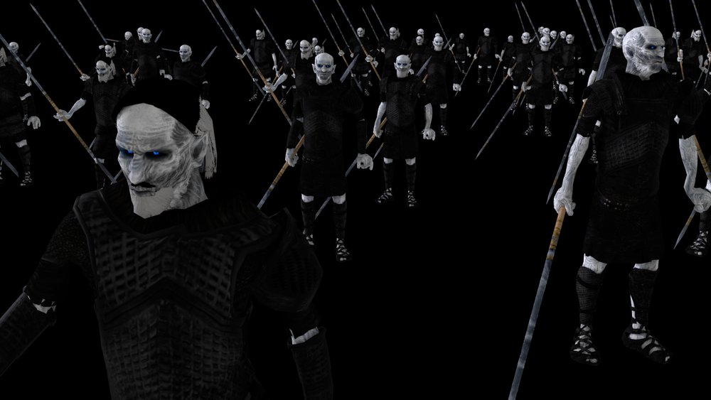 White Walker Crowd Sim