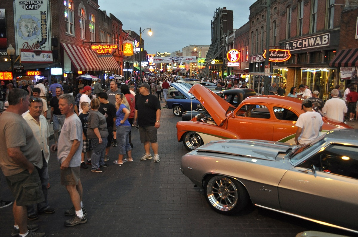 Hot Rods on Beale — Beale Street