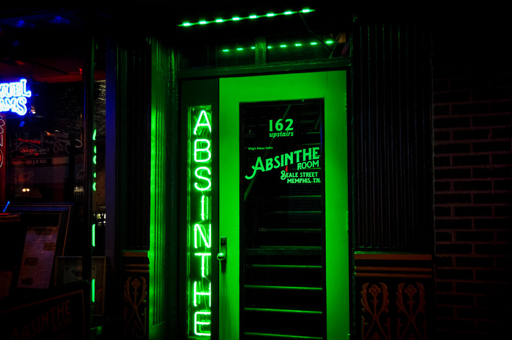 162 Beale St (Upstairs)    Absinthe Room    Learn More