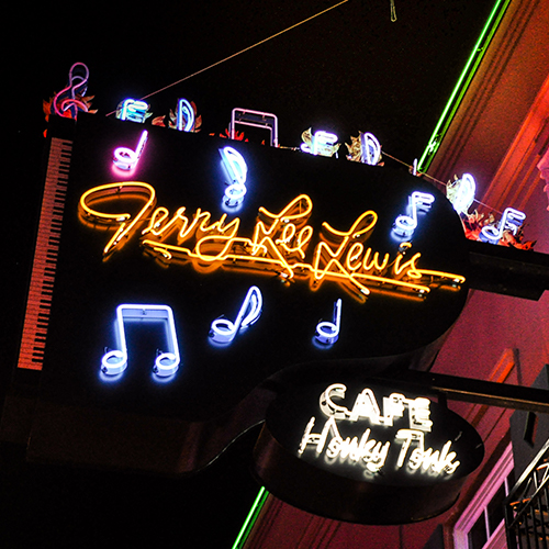 310 Beale St Jerry Lee Lewis' Cafe & Honky Tonk Learn More