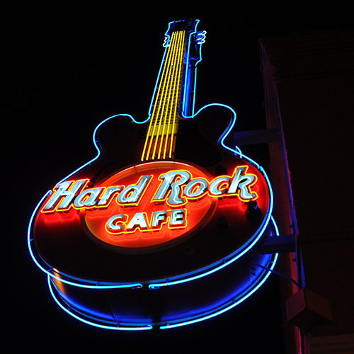 126 Beale St. Hard Rock Cafe Learn More