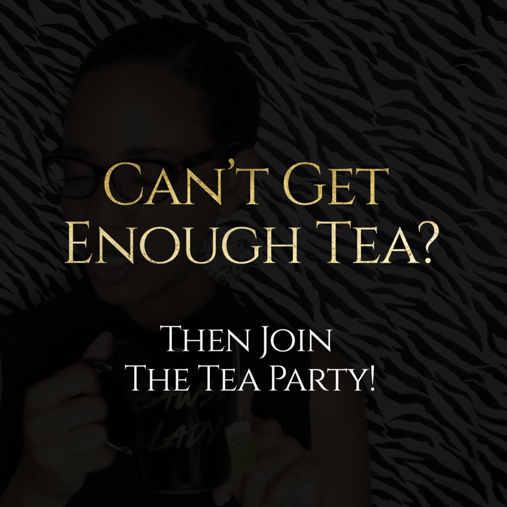 Tea Time Tuesday Branding Queen Brand Website Design