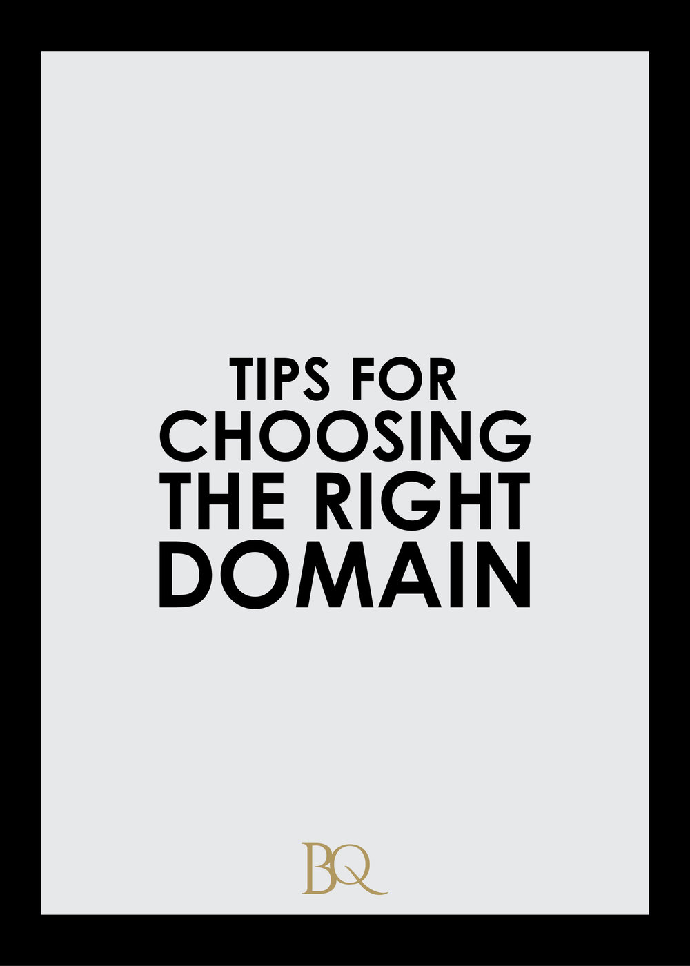 Learn some tips on how to choose the right domain