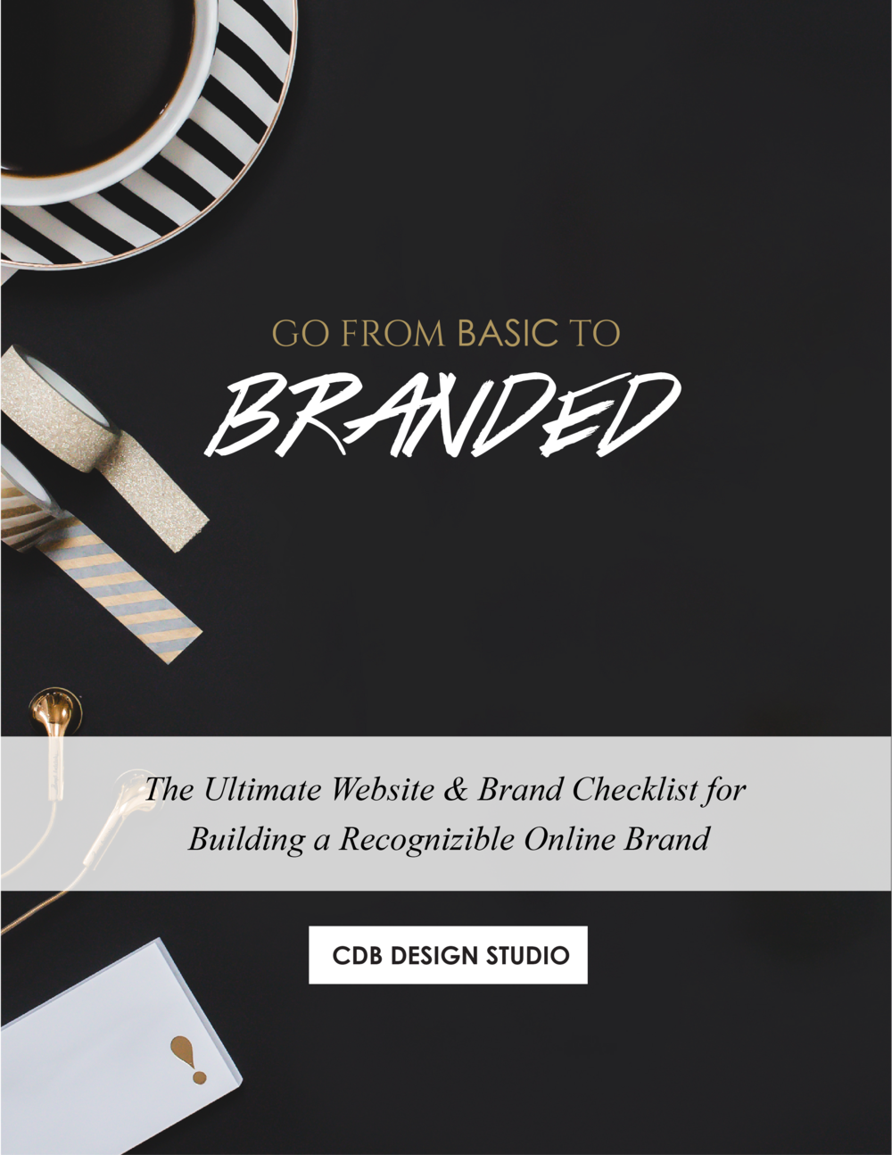 CDB Website and Brand Checklist-Basic to Branded Squarespace