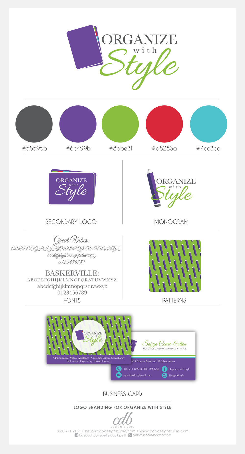 Organize with Style_Brand Board