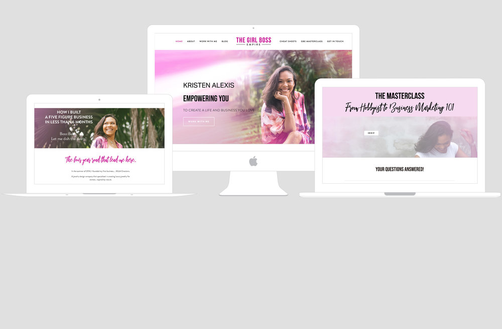 The Girl Boss Empire Trinidad & Tobago Branding Queen Brand Strategist
