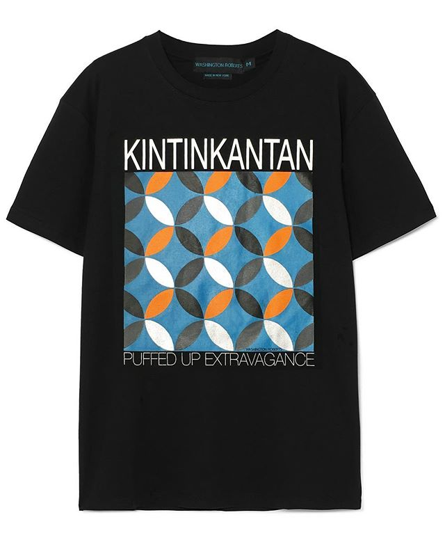 || KINTINKANTAN T-SHIRT || Our #WRQuintessentials #tshirts| Now Available on the site, for both women/men. Head to the #linkinbio to shop or tap to shop directly from Instagram.  #youcouldlookbetter #washingtonroberts #washingtonrobertsnewyork #madeinNewYork #washingtonrobertstshirts