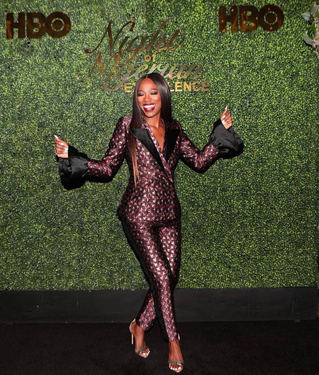 || A TRUE WR WOMAN || WR x @YvonneOrji |Styled by @apuje | #nigerianexcellence 🇳🇬#washingtonroberts #washingtonrobertsnewyork #wrwoman #yvonneorji #nne2018 #hbo #womeninsuits #wrsuits